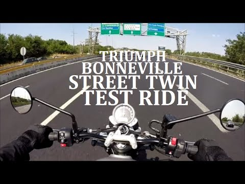 Triumph Bonneville Street Twin Test Ride Completo