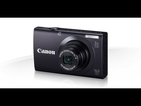 Unboxing & Review Canon A3400 IS 6185B001 PowerShot