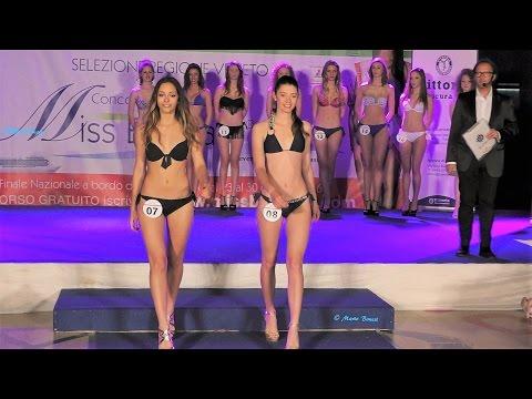 Miss Trissino 2016 Miss Blumare-Sfilata in bikini e premiazioni
