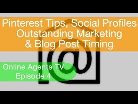 Online Agents TV Weekly Real Estate Marketing Tips Episode 4