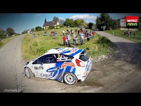 Rajd Nadwiślański | Chuchała / Rozwadowski | Ford Fiesta R5 | etap 1