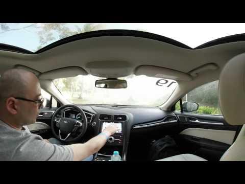 Apresentação rápida do Sync3 dentro do novo Ford Fusion. Vídeo 360