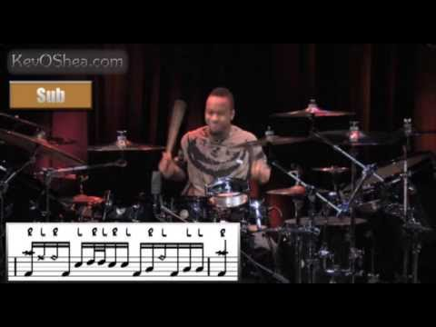 Tony Royster Jr & Dennis Chambers Drum Transcription