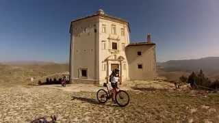 Santo Stefano di Sessanio Italy  City new picture : Santo Stefano di Sessanio - MTB - GoPro - W La Füga