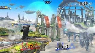 Ganondorf ending Sheiks life in under a minute.
