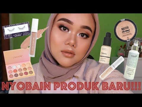 MONOCHROME SOFT BRONZY LOOK | FULL FACE FIRST IMPRESSION | FATYABIYA