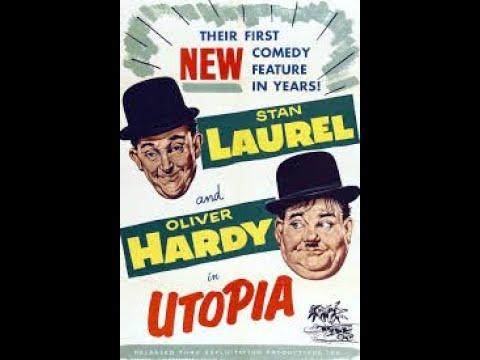 Utopia (1951) | Comedy Movie | Stan Laurel, Oliver Hardy`
