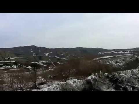 Impresionante el movimiento de la tierra en Rusia