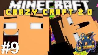 Minecraft: Crazy Craft 2.0 Adventure! Episode 9 - SICK NEW PICKAXES!