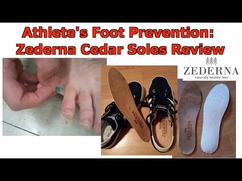 👣 Athlete's Foot Prevention: Zederna Cedar Wood Insoles Review