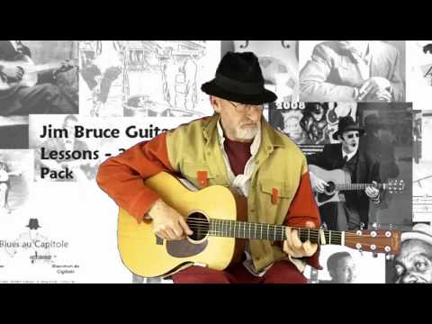 Jim Bruce Blues Guitar – Ton Of Blues