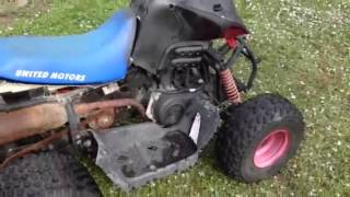 10. United motors moontrax 90cc atv