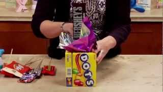 DIY Xyron Candy Bouquet