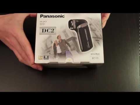 Unboxing: Panasonic HX-DC2 camcorder
