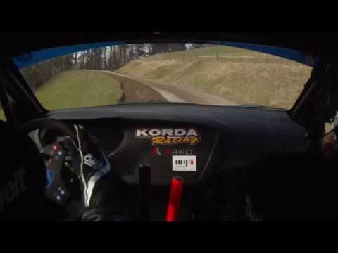 Várkonyi - Makai / Hyundai i20 R5 - Rebenland Rally 2018 - SS4 Onboard