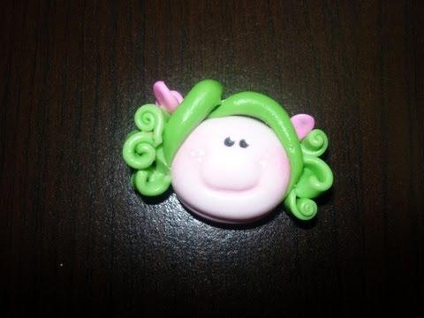 porcelanicron - Visita nuestra pagina :http://manualidadeslahormiga.jimdo.com/ https://www.facebook.com/hormigamanualidades?ref=hl Hermosas caritas de porcelana fria o porce...
