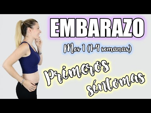 PRIMER MES DE EMBARAZO | SEMANAS (1-4) | PRIMEROS SINTOMAS | ¿CÓMO NOS ENTERAMOS?