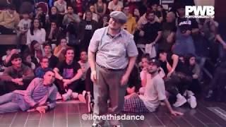 Niepozornie wyglądający gość i jego mistrzowski pokaz tańca! Szczena opada!