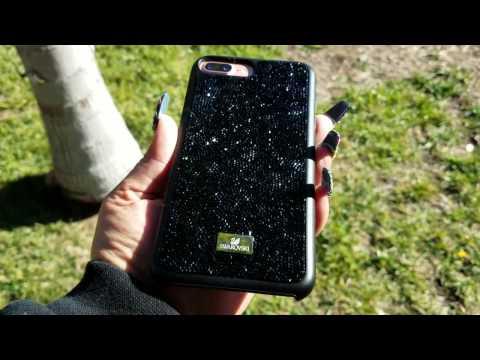 iPhone 7 Plus Swarvoski Glam Rock Case Review