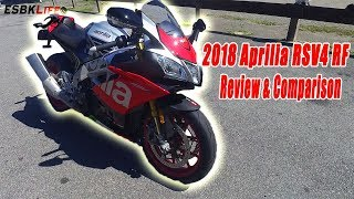 7. ESBKLife: 2018 APrilia RSV4 RF Review & Comparison
