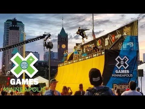 Skateboard Vert Qualifier: FULL BROADCAST   X Games Minneapolis 2018