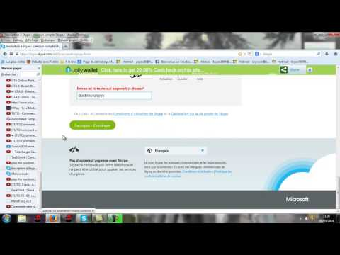 comment ouvrir compte skype