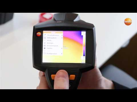 testo 875i - Step 07 - How to Set the emissivity and reflect