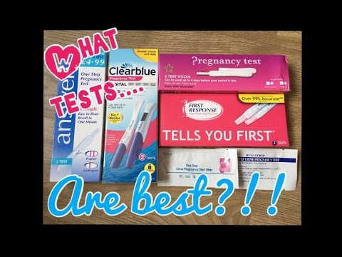 Pregnancy test review    which tests are best?
