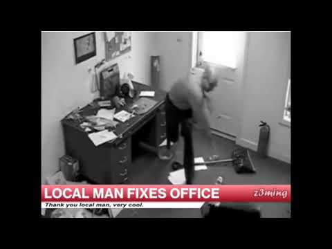 Local Man Fixes Office