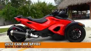 7. Used 2012 Can Am Spyder RSS for sale