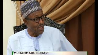 First  interview with President  Buhari