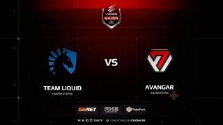 Team Liquid vs AVANGAR, ELEAGUE Major Boston 2018 Main Qualifier