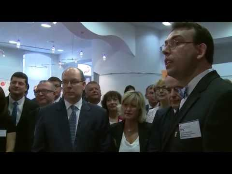 La visite de SAS le Prince Albert II de Monaco sur leur Territoire, vue par les belfortains