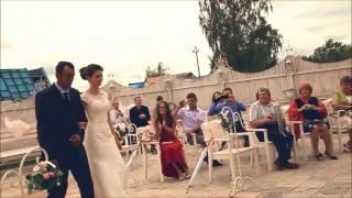 """Свадьба Евгения и Натальи. Ведущие - """"Братья Веселовы""""."""