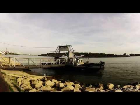 Rhein TAXI Wesseling Germany Rhein HD Time lapse 28.09.2014 (видео)