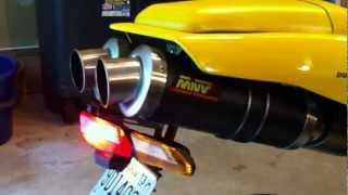 8. 2005 Ducati 999 with MIVV exhaust