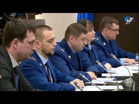 Качеству питьевой воды было посвящено заседание рабочей группы областной прокуратуры