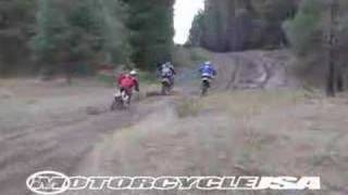8. 2006 Honda XR650R Dirt Bike Test - MotoUSA