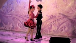 20120826嘉嘉舞蹈坊在觀塘拉丁舞表演