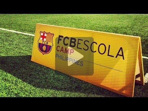 FC Barcelona Escola Camp Philippines | December 2013