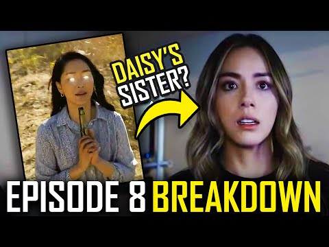 AGENTS OF SHIELD Season 7: Episode 8 Breakdown & Ending Explained | Daisy's Sister & Easter Eggs