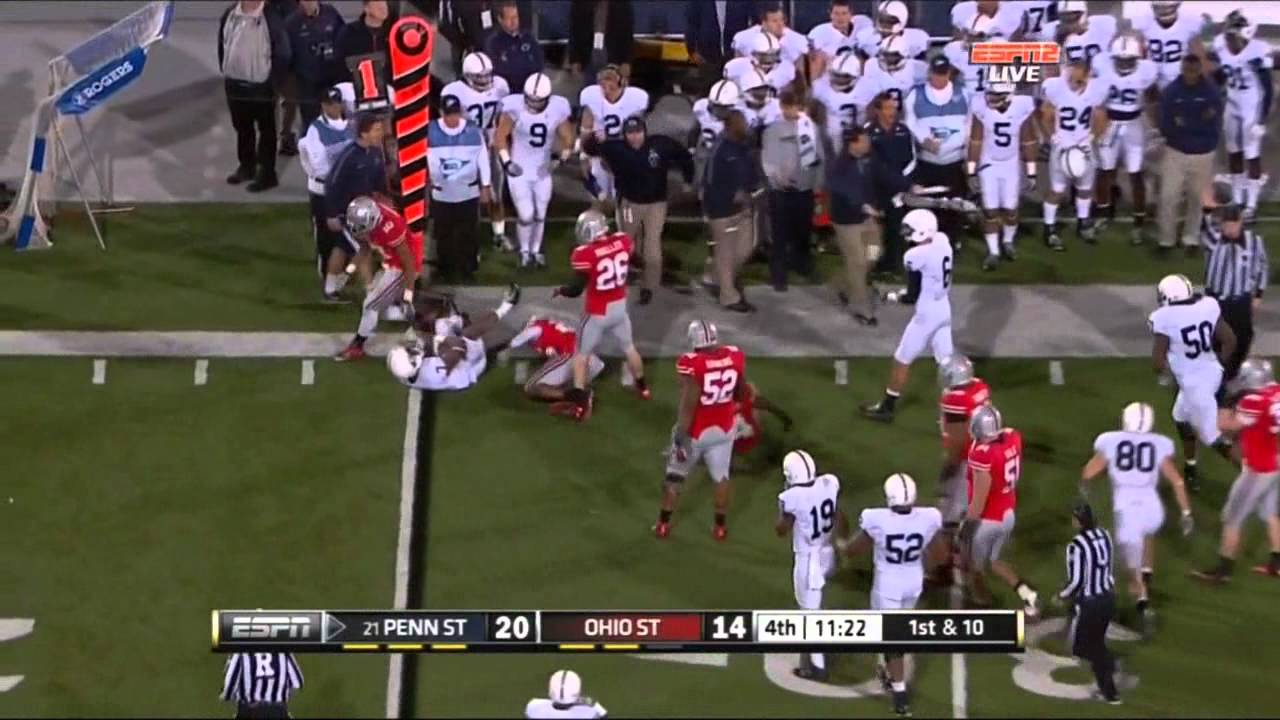 Johnathan Hankins vs PSU and Wisconsin (2011)