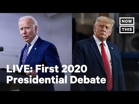 First 2020 Biden-Trump Presidential Debate | LIVE | NowThis