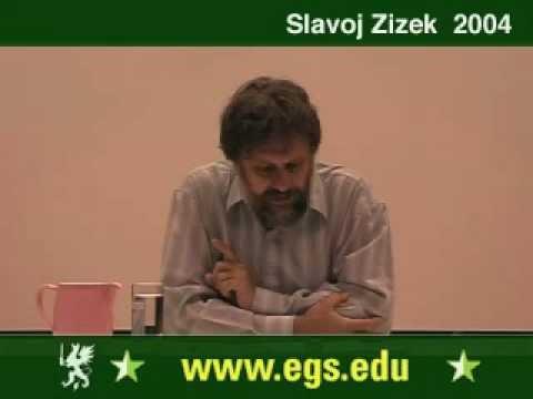 Slavoj Zizek. Plea for Ethical Violence. 2004 1/6