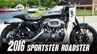 Sold  2016 Harley Davidson   Xl1200cx   Roadster    Billet Silver   Vivid Black