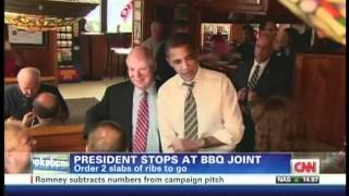 Clinton (MD) United States  City new picture : President Obama Texas Ribs & BBQ Clinton Maryland (March 15, 2012)