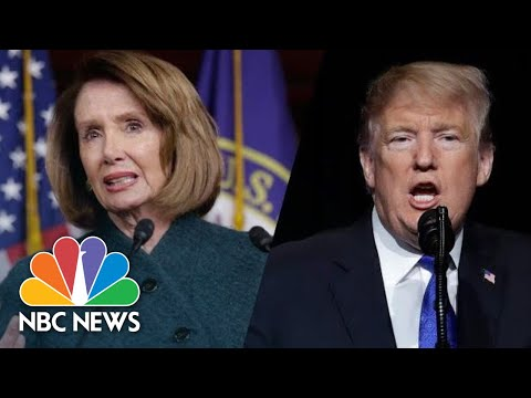 Lawmakers React To President Donald Trump Canceling Nancy Pelosi's Afghanistan Trip | NBC News