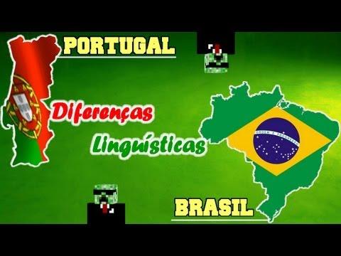 BRASIL x PORTUGAL - Diferenças Linguísticas