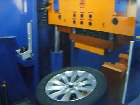 Испытание в лаборатории диска WSP Italy W456 Ginostra на удар спицы (Volkswagen)