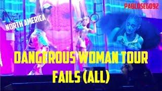 Dangerous Woman Tour Fails (ALL) First Leg - Ariana Grande Video